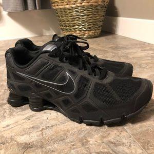 Men's Black Nike Shox Turbo